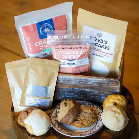Image of Best of Georgia Breakfast Box: 6 assorted sconies + local favorites!