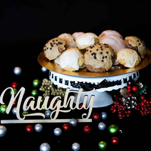 "Image of Holiday ""Naughty"" Box of Sconies (Mini-scones)"