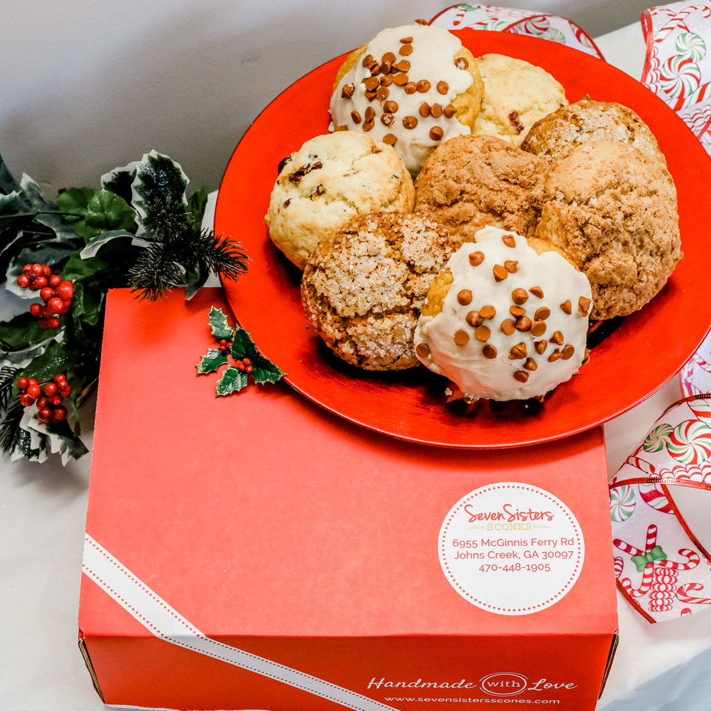 "Holiday ""Nice"" Box: Choice of Scones or Sconies"