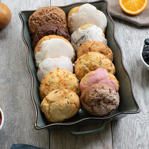Qtrly Subscription: Baker's Dozen Gourmet Scone Box