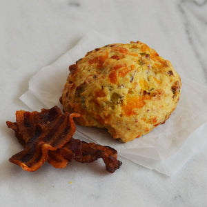 Bacon, Cheddar and Chive Sconie (Mini-Scone)