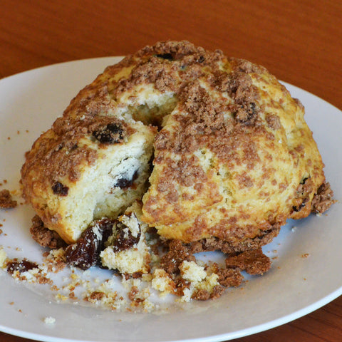 Cherry Crumble Scone