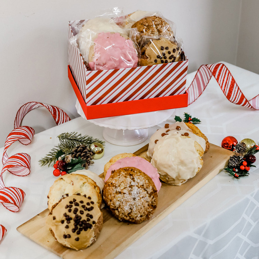 Deluxe Holiday Gift Box - 10 assorted scones