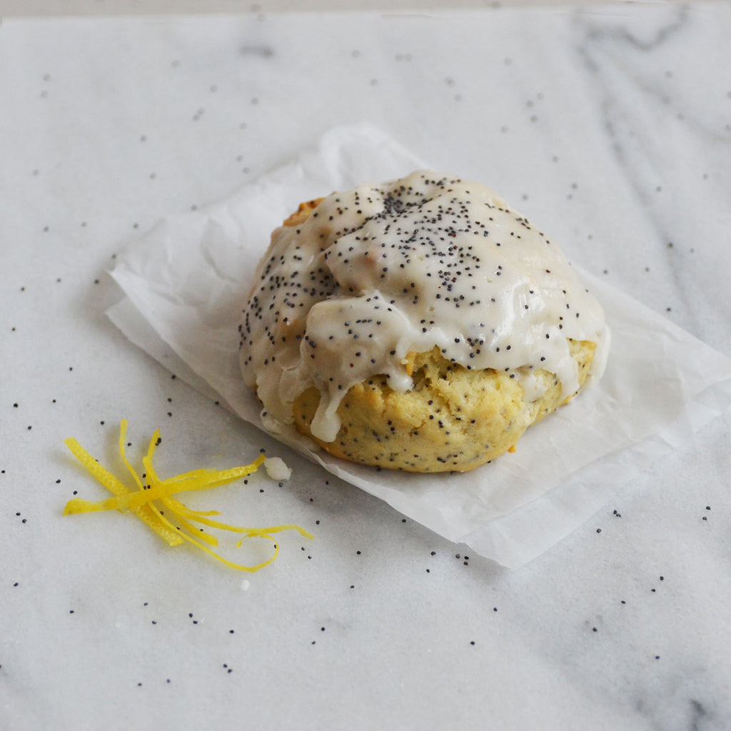 Lemon Poppy Sconie (Mini-Scone)