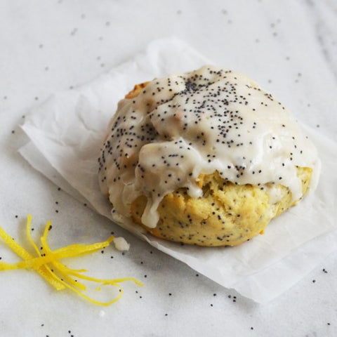 Lemon Poppy Scone