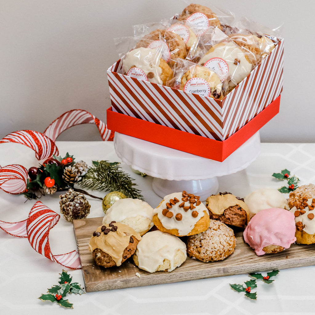 Signature Holiday Gift Box - 12 assorted sconies