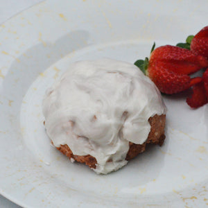 Strawberry Champagne Sconie (Mini-Scone)