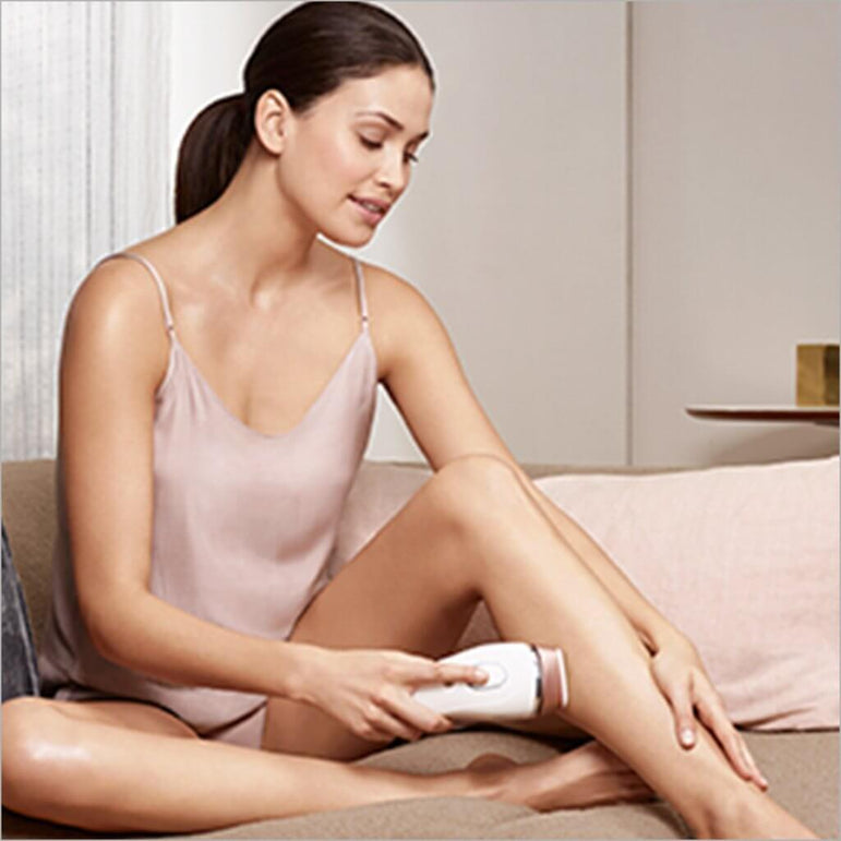 Braun Silk-Expert 5 BD 5001 Laser Hair Removal at Home for Body and Face with Gillette Venus Razor