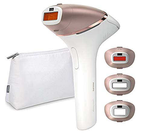 Philips Lumea Prestige Bri956 /50 IPL Hair remover  for Body, Face, Bikini and Underarms - Spanish box