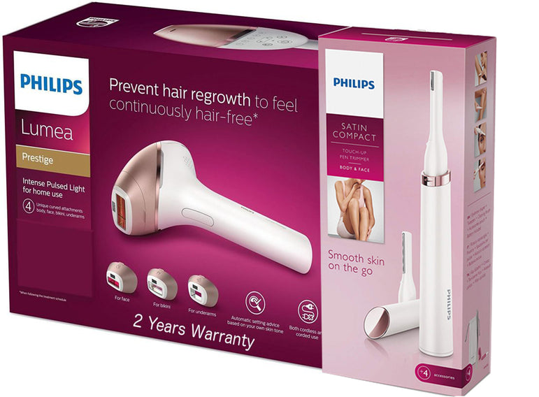 Philips Lumea Bri956 60 Prestige Ipl Hair Removal Tool Plus 1 Touch Up
