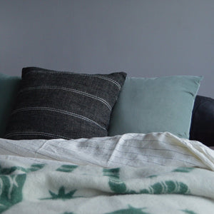 Velvet Square Pillow - Mint