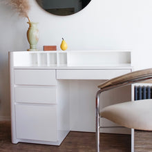 Load image into Gallery viewer, Ivory Lacquered Desk