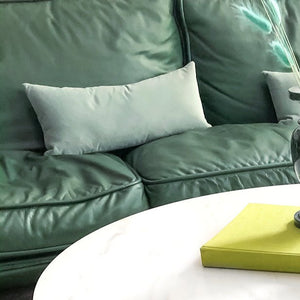 Velvet Lumbar Pillow - Mint