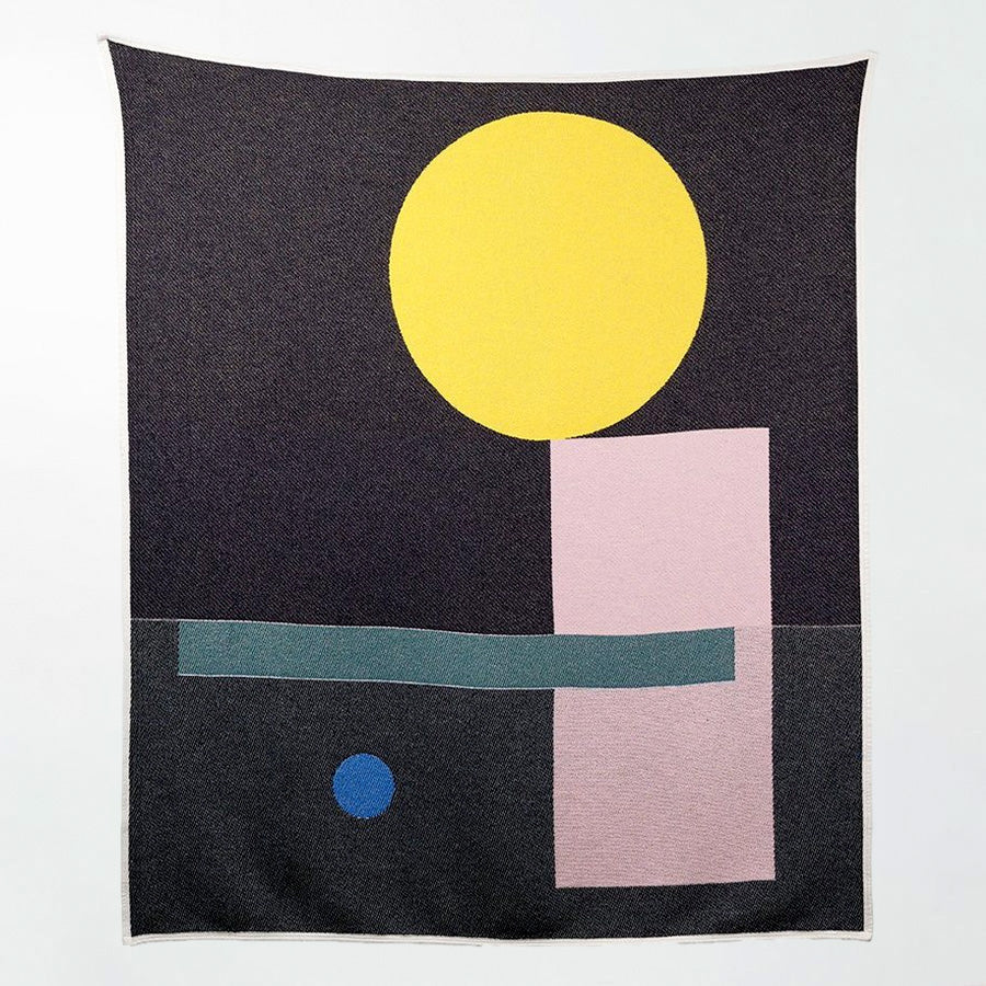 BAUHAUSED 6 Cotton Blanket/Throw by Sophie Probst