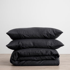 Cultiver Duvet Set - Black