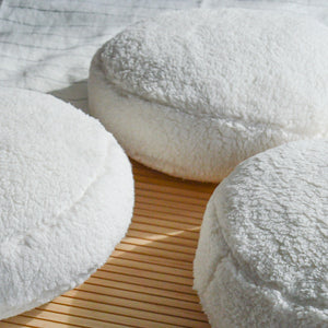Sherpa Cloud Circle Pillow