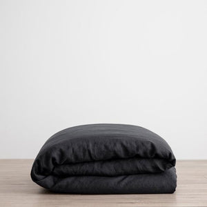 Cultiver Duvet Cover - Black