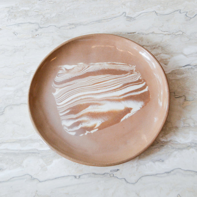 Marbled Dinner Plate 2 - MYS Ceramics
