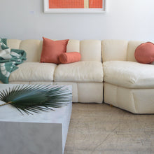 Load image into Gallery viewer, Ecru Jacquard Sectional Sofa