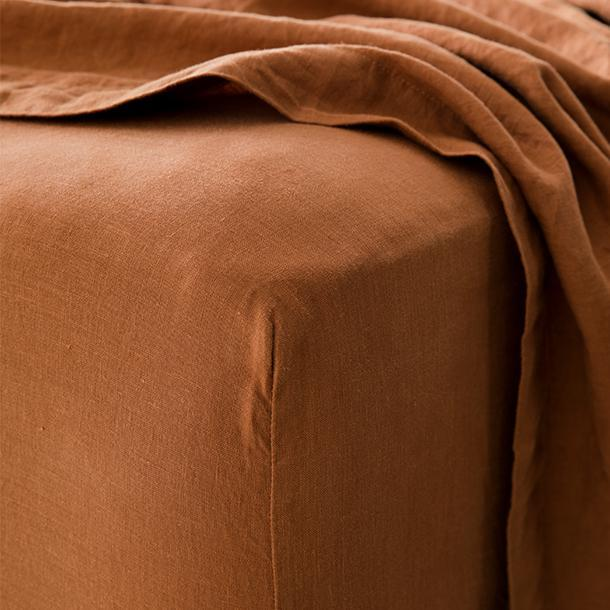 Cultiver Fitted Sheet - Cedar