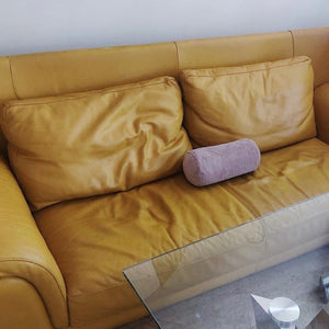 Mustard Leather Sofa