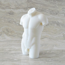 Load image into Gallery viewer, HIM Male Figure Candle - Ivory