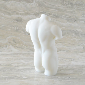 HIM Male Figure Candle - Ivory
