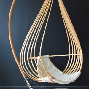 Hanging Nest Chair by Michael Javidi