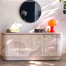Load image into Gallery viewer, Lacquered Blush-Mauve Credenza