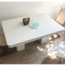 Load image into Gallery viewer, Ivory Laminate Dining Table