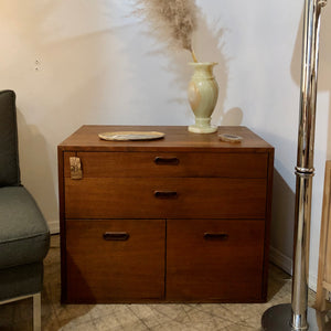 Teak Nightstands
