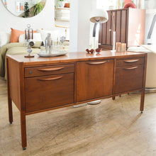 Load image into Gallery viewer, Jens Risom Locking Credenza Console