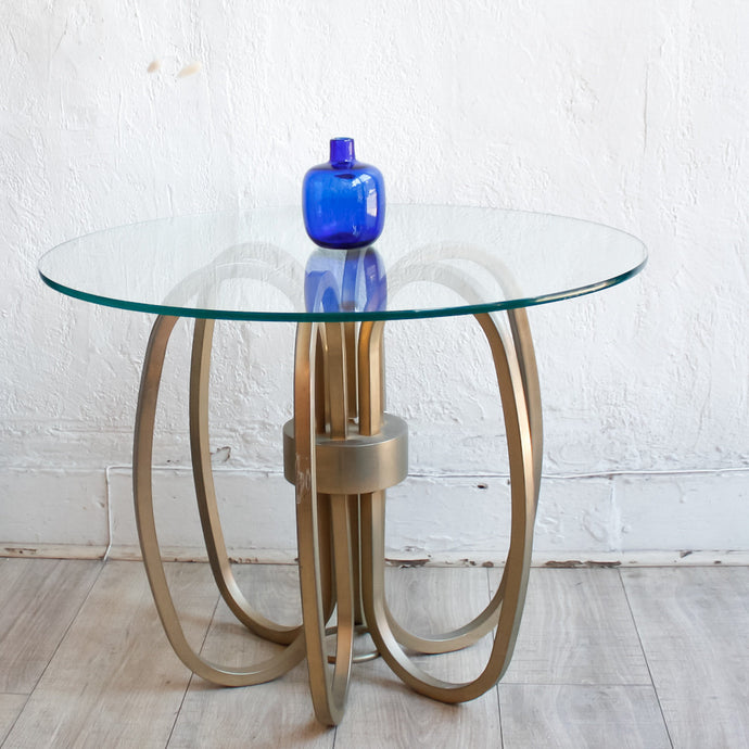 Milo Baughman Spider Brass Accent Table