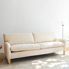 Load image into Gallery viewer, Milo Baughman Sand Linen Sofa