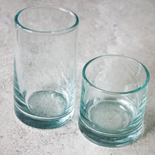 Load image into Gallery viewer, Moroccan Highball Glasses - Aqua - Set of 4