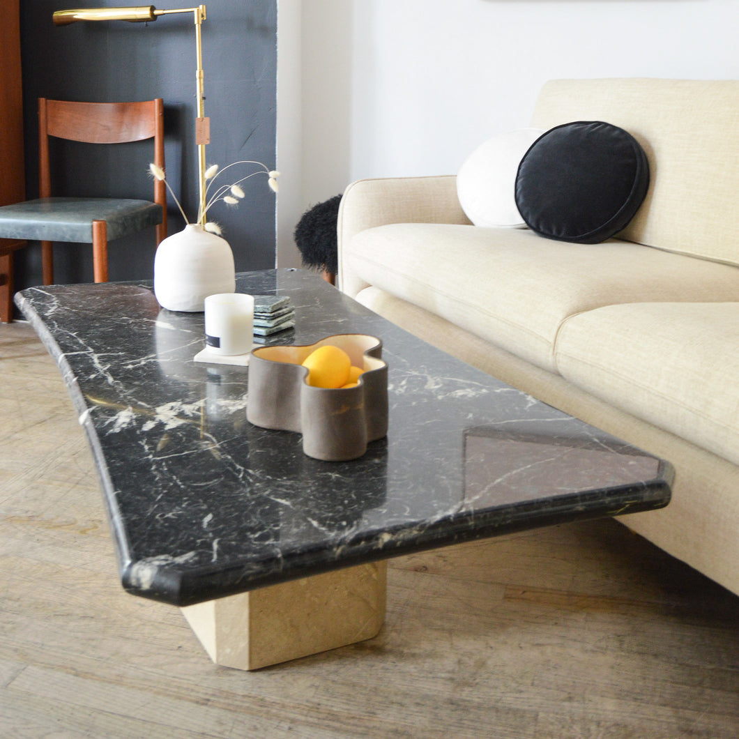 Noir Marble Coffee Table