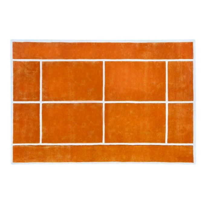 Clay Court Rug by PIECES by an Aesthetic Pursuit