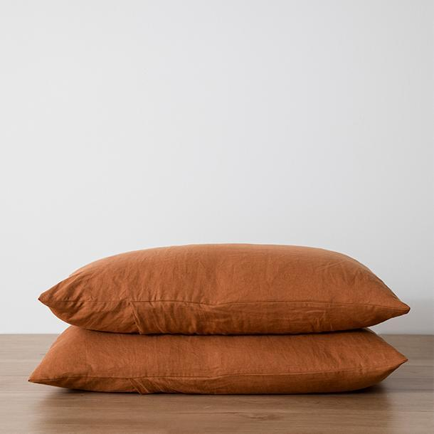 Cultiver Pillowcases - Cedar