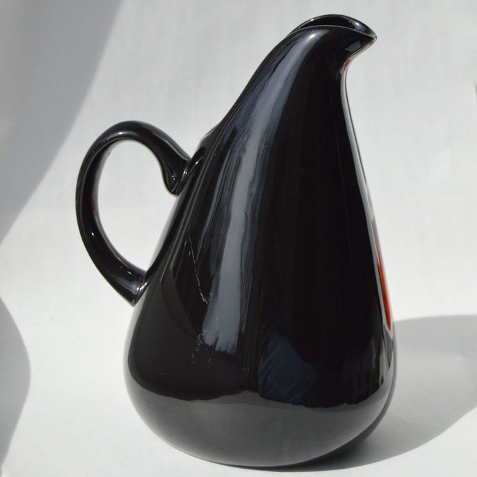 Russel Wright Noir Ceramic Pitcher