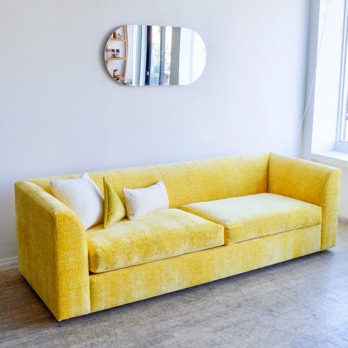 Canary Yellow Sofa