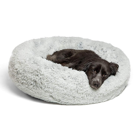 The Fluff Puff Round Dog Bed