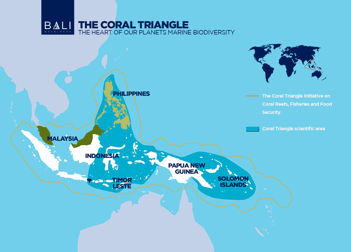 Bali Necklaces The Coral Triangle