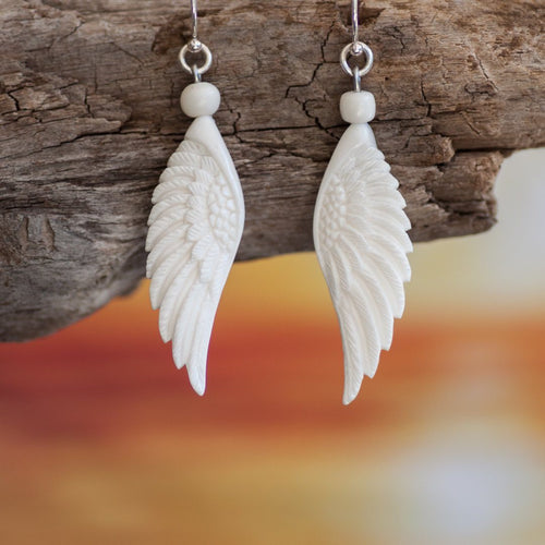 Angel Wing Earrings Earring Bali Necklaces