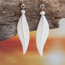 Load image into Gallery viewer, Feather Earrings Earring Bali Necklaces