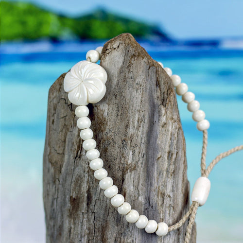 Hibiscus Flower Bracelet Bracelet Bali Necklaces