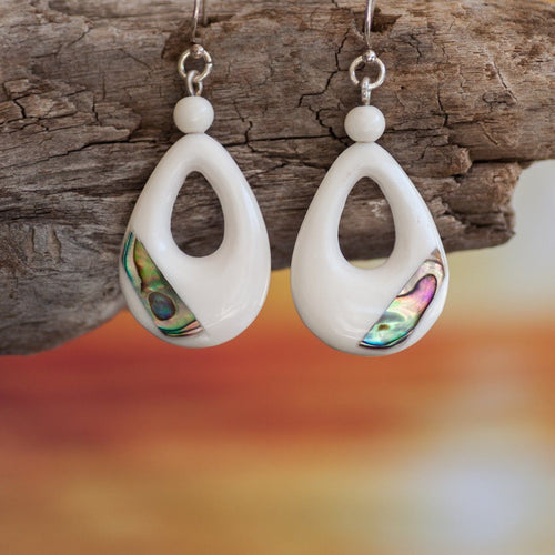 Paua New Life Earrings Earring Bali Necklaces