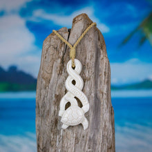Load image into Gallery viewer, Sea Turtle Twist Necklace Bali Necklaces