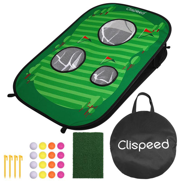 Foldable Golf Cornhole Set