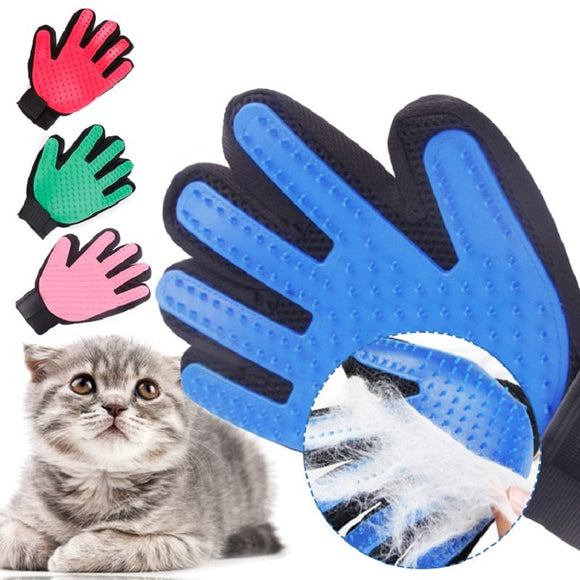 Pet De-shedding Grooming Glove