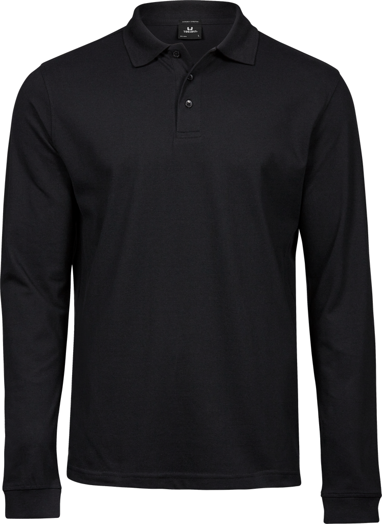 Luxury Stretch Long Sleeve Polo Tee Jays